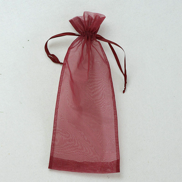 flat bottom organza bag